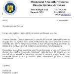 Un ambasador impotriva interesului national si a pozitiei presedintelui Romaniei in privinta Kosovo