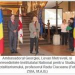 "Ambasadorul Georgiei in Romania, Levan Metreveli: ""Speram ca usile NATO ne vor fi deschise"""