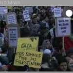 "Invazia din Gaza. Operatiunea ""Oferet Yetzukah"": zeci de palestinieni ucisi in prima zi a incursiunii armate. Demonstratii anti-israeliene in Europa"
