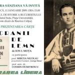 """Lansarea in premiera a volumului """"Cranii de lemn"""" si parastas la Bucuresti pentru Mota si Marin, legionarii cazuti in Spania pe frontul anticomunist"""