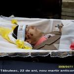 MARTIRUL anticomunist Ion Tabuleac nu a murit in urma batailor, ci… s-a sinucis, sustine un general MAI. OSCE condamna, Voronin amnistiaza. FOTO