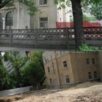 DEMOLARI si renovari la Casa Verde a fostei Miscari Legionare. UN RABIN LA CASA VERDE