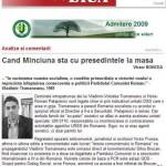 CUM AM CASTIGAT 3 MILIARDE DE LEI: Mihnea Berindei, fondatorul GDS si membru de vaza al Comisiei Tismaneanu ramane RECUNOSCUTUL AGENT AL SECURITATII