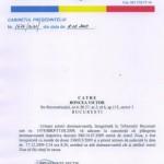CONTESTATIA JURNALISTULUI VICTOR RONCEA admisa de Tribunalul Bucuresti in cazul cenzurii practicate la ziarul ZIUA si a persecutiilor motivate politic
