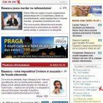 """ZIUA la pamant. Capul de ziar, cu obsesia Basescu, doar 1500 de accesari. """"Editorialul"""" directorului Pilsu, in afara Topului! """"Picatura chinezeasca"""""""