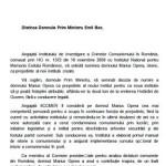 """MARIUS OPREA, SPURCATORUL lui Traian Basescu, fost consilier fara ORNISS pe """"securitate"""" al lui Tariceanu, ii cerseste lui Boc scaunul de secretar de stat la IICCR. DOCUMENT SRI"""