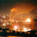 """Bombardamentele din Serbia prin ochii lui Mile Carpenisan: """"APOCALIPSA IN DIRECT"""". Basescu l-a decorat pe Mile cu Ordinul Naţional """"Serviciul Credincios"""" în grad de Cavaler."""