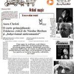"""Razboiul intelectualilor. Contemporanul si Aura Christi au declansat lupta cu """"secta exclusivista"""" a """"intelectualilor Gold"""" ai Romaniei literare, GDS, Humanitas, Soros, ICR si Cotrocenilor: Manolescu, Liiceanu, Patapievici, Tismaneanu…"""