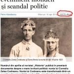 Corneliu Zelea Codreanu contra lui Andrei Plesu. Historia lui Cristoiu vs filosoful de curte al oligarhului Patriciu