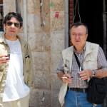 """Cum au trecut greva generala ziaristii romani din Siria si """"rais"""" Ion Cristoiu. Incursiune pe Inaltimile Golan"""