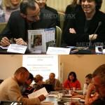 Multumesc Conventiei Organizatiilor de Media din Romania. Dorind sa il apere pe Ringier de Rosca, COM pulverizeaza pretentiile lui Liiceanu si Mihnea Berindei fata de Roncea. In sfarsit, solidaritate de breasla dupa trei ani de procese