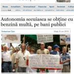 Roncea.ro si Civic Media, impreuna cu Dan Tanasa, resurse pentru Jurnalul National, Adevarul si Realitatea TV in cazul extremistilor maghiari in frunte cu pastorul-informator si agent al politiei politice comuniste Laszlo Tokes. FOTO INFO