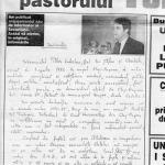 """Radu Portocala: Tökes sau obstinaţia urii. Tökes: """"Situaţia ungurilor din România de azi nu are decît un singur echivalent în istorie: situaţia evreilor în Germania nazistă."""""""