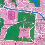 """Ciudatenile Patriarhiei: Templul Lojei masonice """"Romania"""" mentionat pe harta privind Catedrala Mantuirii Neamului. FOTO"""