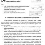 Civic Media sustine pozitia Uniunii Arhitectilor din Romania privind ilegalitatea mutarii statuilor de la Universitate. Oprescu este un primar penal. DOCUMENT