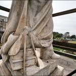 FOTOGRAFIA ZILEI. Unde-au ajuns statuile de la Universitate
