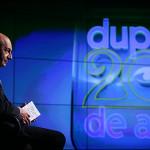 """TARE! Notitele lui Basescu despre economie de la emisiunea """"Dupa 20 de ani"""", scrise cu mana lui. FOTO: Cristina Nichitus"""