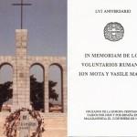 O amintire olografa de la Majadahonda, semnata Horia Sima si alti legionari, 13 ianuarie 1993. FOTO-DOCUMENT. VIDEO: Dezastrul de la monumentul din Spania, azi. SONDAJ: Ar fi bine ca Papa sa-i canonizeze pe Mota si Marin alaturi de cei 498 de martiri ai Razboiului din Spania, deja beatificati?