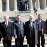 Eroii de la Tiraspol sunt asteptati si la Washington. Alexandru Lesco, Tudor Popa, Andrei Ivantoc si Stefan Uratu vorbesc despre vizita la New York, Transnistria si amenintarile Rusiei la Marea Neagra. AUDIO