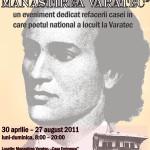 """A inceput evenimentul national continuu """"Eminescu la Manastirea Varatec"""". Va asteptam!"""
