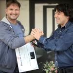 Premiul Mile Carpenisan pentru curaj si excelenta in jurnalism. Cristi Botez si Victor Roncea la Nasul Radu Moraru de Ziua Presei. VIDEO 10 TV