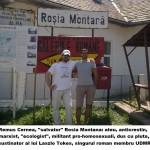 """Cine sunt """"salvatorii"""" Rosiei Montane, vedetele Fan Fest. Azi, Remus Cernea, animatorul marxism-ecologismului anticrestin din Romania"""