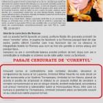 """George Roncea si-a dat demisia de la """"Curentul"""" dupa ce i-au fost cenzurate doua pasaje despre Vladimir Tismaneanu dintr-o analiza, devenita, de-acum, antologica: """"Alina Mungiu – SAR – societatea """"civilă"""" a şobolanilor rozalii"""""""