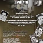 Comemorare la inchisoarea Jilava pentru parasutistii legionari colaboratori ai CIA si executati de KGB. Sâmbătă, 29 octombrie 2011, ora 11.00, la Fortul 13 Jilava