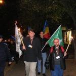 """Noua Dreapta si asociatiile """"Avram Iancu"""" si """"Eternul Maramures"""" au comemorat martirii de la Moisei. 14.10.44."""
