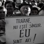 Alaturi de presedintele Traian Basescu. O fotografie cu dedicatie pentru oameni buni si rai, mari si mici