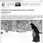 """Doxologia: """"Imaginile doamnei Cristina Nichituş Roncea ilustrează perfect aspectele caracteristice ale trăirii ortodoxe"""""""
