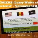 """PREMIERA ONLINE. Larry Watts si """"Prietenii"""", Volumul II: Ceausescu si Basarabia, URSS contra Romaniei, confruntarea CIA – KGB"""
