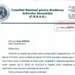 CNSAS catre Ziaristi Online despre Cazul Catrinel Plesu – Recrutata DIE. DOC/PROMO