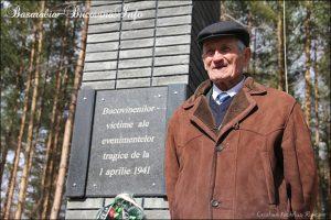 Comemorare-la-Fantana-Alba-1-aprilie-2012-Basarabia-Bucovina-Info-Petru Hutanu - Supravietuitor