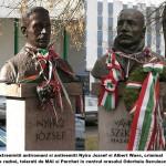 Basescu in vizita la ungurenii lui. Ce obiective culturale nu trebuie sa rateze: busturile criminalilor antiromani si antisemiti Wass Albert si Nyiro Jozsef instalate de pupilul prezidential Szasz Jeno, extremistul PCM, in mijlocul Odorheiului Secuiesc
