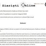 Multumiri oficiale adresate CNSAS de catre Ziaristi Online in cazul extremistului antiroman, antiamerican si antisemit Nyiro Jozsef. MAE de la Budapesta chestionat in cazul ambasadorului filo-nazist de la Bucuresti, Oskar Fuzes