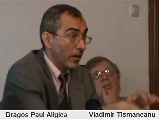 Dragos Paul Aligica si Vladimir Tismaneanu
