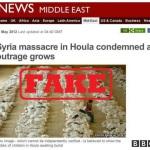 """De ce nu ar trebui expulzat ambasadorul Siriei din Romania. Ce a inceput cu o minciuna nu poate sfarsi cu un adevar. """"Masacrul"""" de la Houla, un """"masacru"""" à la Timisoara lui 1989. THE HOULA HOAX – OBAMA'S WAG THE DOG"""