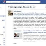 Presedintele-suspendat ne intreaba pe Facebook: Esti suparat pe Basescu? Pai de ce? Roncea ii raspunde: Pai de ICR si GDS