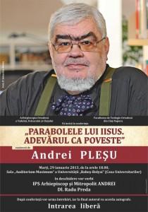 Afis Plesu Cluj cu Andreicut