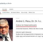 Andrei Plesu, bursier la 65 de ani!? De ce primeste Andrei Plesu pensie de la statul german prin Institutul de Studii Avansate din Berlin – Wissenschaftskolleg zu Berlin?