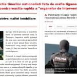 """Tiganca imputita"" a lui Basescu a dus la o amenda contestata in instanta. ""Nationalistii autonomi"" de la Timisoara sunt arestati si perchezitionati, incalcandu-se Constitutia, pentru a fi protejata mafia tiganeasca si coruptia ""organelor Legii"""