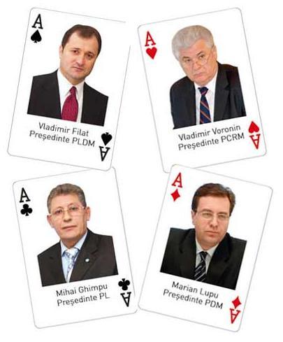 Filat-Ghimpu-Voronin-Lupu-KGB-Carti-de-Poker-in-Cacealmaua-ruseasca