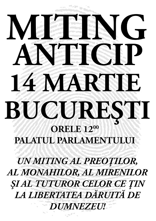 Miting Anti-Cip si Acte Electronice-Biometrice