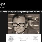 Criminalul Pacepa, reanimat la Muzeul Taranului Roman de membri ai Comisiei Tismaneanu. Presedintele Romaniei are sansa sa asculte de seful SRI si apoi sa-l degradeze pe agentul politiilor politice comuniste din RSR si URSS