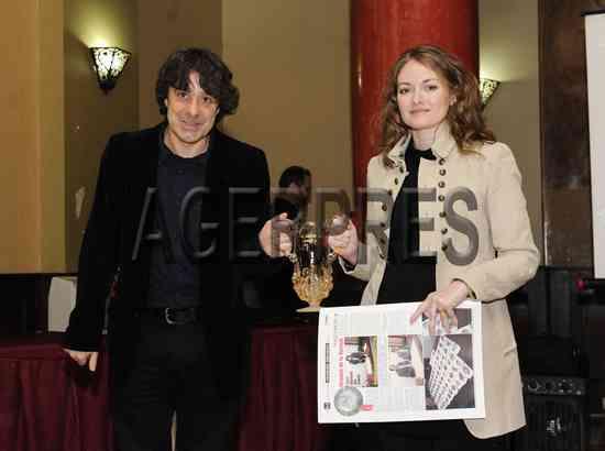 Victor Roncea si Cristina Nichitus Roncea - Premiul I UZP 2012 - Foto Vlad Stavrica - Agerpres