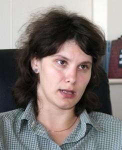 Madeea Axinciuc Director ICR Tel Aviv si profesoara lui Plesu