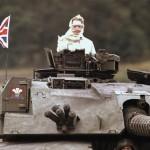 Margaret Thatcher, Doamna cu vointa si senile de fier. FOTO