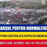 Cand diavolul isi face de cap in politica din Romania: Basescu vrea eliminarea lui Dumnezeu din Constitutie si Ponta a familiei! Vino azi la Marsul Pentru Normalitate: Piata Victoriei – Dealul Patriarhie. Intrunire: Ora 11.00 la Guvern