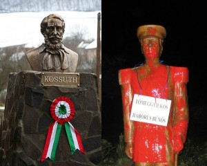 Lajos Kossuth si Miklos Horthy - Wanted for crimes agains humanity